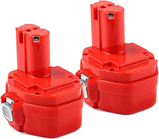 14,4V 3.0Ah Ni-MH Remplacement pour Makita Batterie PA14 1420 1422 1433 1434 1435 1435F 192600-1 193985-8 Perceuse sans fil