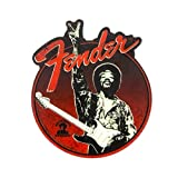 Fender 9100277000 Jimi Hendrix Collection Peace Sign Magnet Guitar Tools, Red