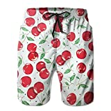 Cherry Casual Men Summer Surfing Quick-Drying Swim Trunks Shorts Beach Pants with Pocket