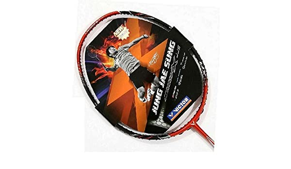 Amazon.com : Victor Meteor X-JJS 4U Badminton Racquet : Badminton Rackets : Sports & Outdoors