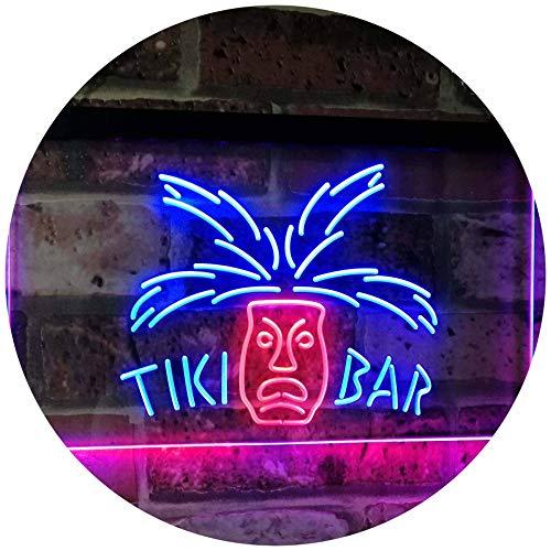 AdvpPro 2C Tiki Bar Mask Pub Club Beer Drink Happy Hour Dual