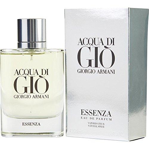 Acqua Di Gio Cologne Giorgio Armani (ACQUA DI GIO ESSENZA by Giorgio Armani EAU DE PARFUM SPRAY 2.5 OZ (Package Of 3))