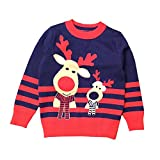 Product review for Anbaby Little Boys Children's Double-deck Christmas Elk Pullover Sweaters