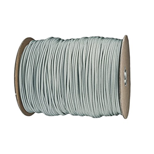 100 feet of paracord in grey - 7