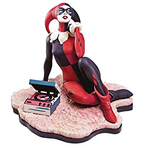 Mondo Tees Harley Quinn Waiting for My J Man Resin Statue