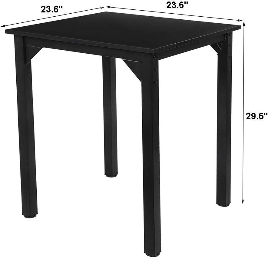 Dining Square Kitchen Table,Laptop Desk Computer Table Desks for Bedroom Home