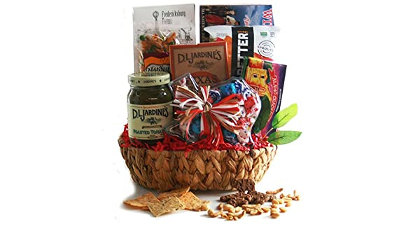 d77195e9 Amazon.com : Texas Hospitality - Texas Gift Basket : Gourmet Candy ...