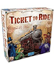 Ticket to Ride - A Board Game by Days of Wonder | 2-6 Players - Board Games for Family | 30-60 Minutes of Gameplay | Games for Family Game Night | for Kids and Adults Ages 8+ | English Version