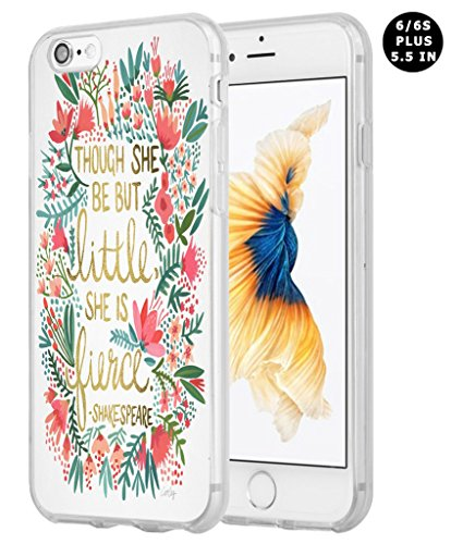 Iphone 6 Plus Case, Apple Iphone 6S Plus Case Though She Be...