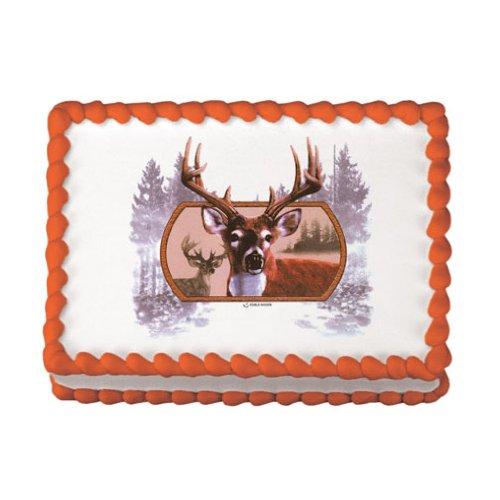 Lucks Edible Image, Deer -