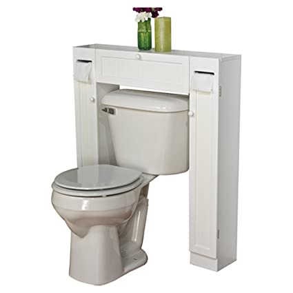 34u0026quot; X 38.5u0026quot; Over The Toilet Cabinet   It Has A White Finish