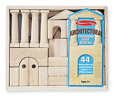 Melissa & Doug® Architectural, Unit Block Set - Item #4201