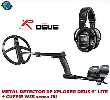 Metal Detector XP Xplorer Deus 9 Lite + auriculares WS5 sin hilos