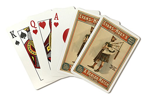 oss Scottish Bagpiper - Vintage Advertisement (Playing Card Deck - 52 Card Poker Size with Jokers) ()