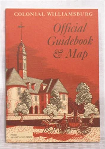Colonial Williamsburg Official Guidebook Map Colonial - Colonial williamsburg map