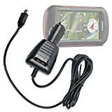 DURAGADGET Lightweight & Ultra-Portable Mini USB In-Car GPS Charger & Power Supply for the NEW Garmin Montana 610, Montana 680, Montana 680T & Garmin Dash Cam 35