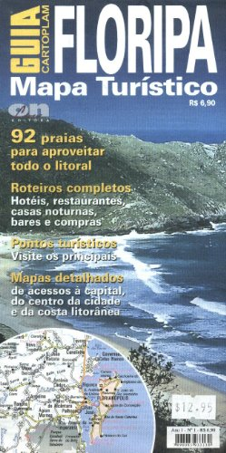 FLORIPA - Santa Catarina Island (Brazil) Visitor's Map (Spanish Edition)