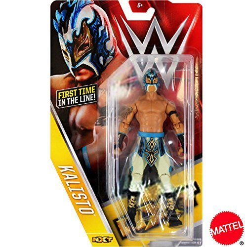 [WWE / NXT] KALISTO Callisto MATTEL Inc. figures / Series 60 [parallel import goods] by Mattel