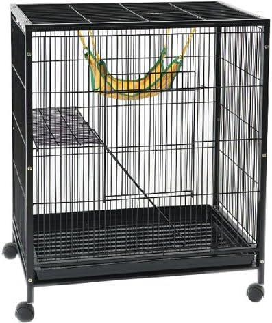 WorldStores Abode Medium Cage – Escalera, plataforma, – Hamaca rata, hurón, roedores: Amazon.es: Productos para mascotas
