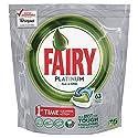 Fairy Platinum Original Cápsulas de Lavavajillas - Paquete de 63 unidades