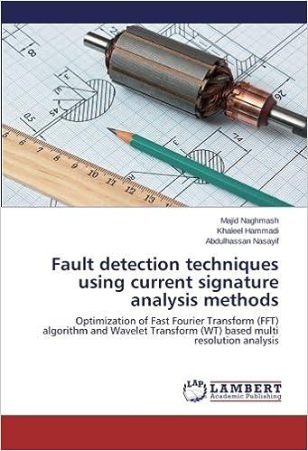 Fault detection techniques using current signature analysis