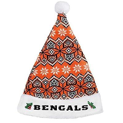 Cincinnati Bengals 2015 Knit Santa Hat