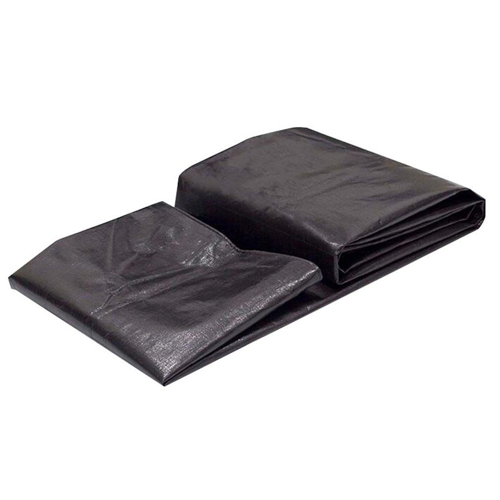 grandes ofertas YAGEER zhangpeng Lona Acolchada Negra Militar Lona Impermeable del Aceite Aceite Aceite Tela plástica del paño del toldo Trapo del Polvo del camión ( Talla   5MX8M )  barato