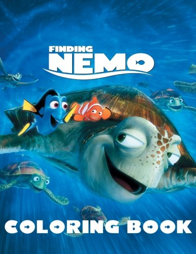 Amazon.com: Finding Nemo: Coloring Book for Kids and Adults ...