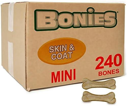 Green Pet Organics BONIES Skin Coat Health Bulk Box Mini 240 Bones