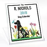 Charming 2018 Dog Desk Calendar, 5