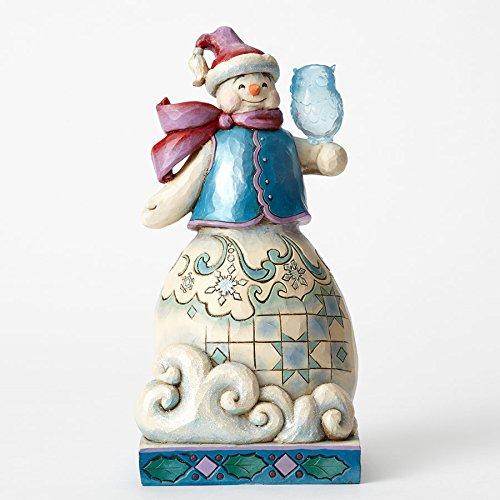 Jim Shore Heartwood Creek, Wonderland Snowman with (Polyresin Snowman)