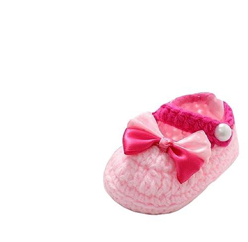 Covermason Baby Mädchen Jungen Kleinkind Schuhe Häkeln Handgefertigt