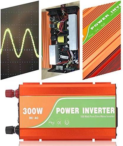 Auto Wechselrichter,Auto Power Inverter 300 Watt Auto Solar Spannungswandler Hochfrequenz Reine Sinus Wechselrichter Ausgangsspannung 220 V 300W Auto Solar Hochfrequenz Sinus Wechselrichter (48V)