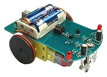Kit: seguidor de línea tipo D2-1 - siguientes líneas, robot autónomo