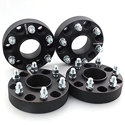 "GDSMOTU 4pc Hubcentric for Chevy GMC 6 Lug, 1.5"" Wheel Spacers 6x5.5 with 14x1.5 Studs for Chevy Express Silverado 1500 Suburban Tahoe,GMC Savana Sierra Yukon 1500,2020 RAM 1500: Automotive"