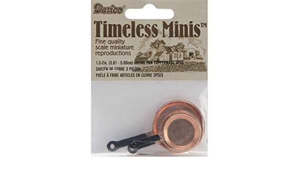 Amazon.com: Timeless Miniatures-Copperware Frying Pans 3/pkg: Arts, Crafts & Sewing