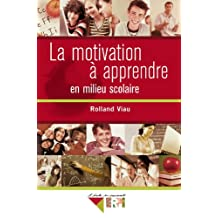 Motivation a app. milieu scol. rolland viau