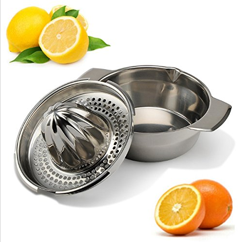 Stainless Steel Citrus Orange Juicer Lemon Lime Fruit Hand Squeezer Kitchen Tool (KT0048)
