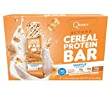 #9: Quest Nutrition Beyond Cereal Protein Bar, Waffle, 12g Protein, 3g Net Carbs, 110 Cals, Low Carb, Gluten Free, Soy Free, 1.34oz Bar, 15 Count