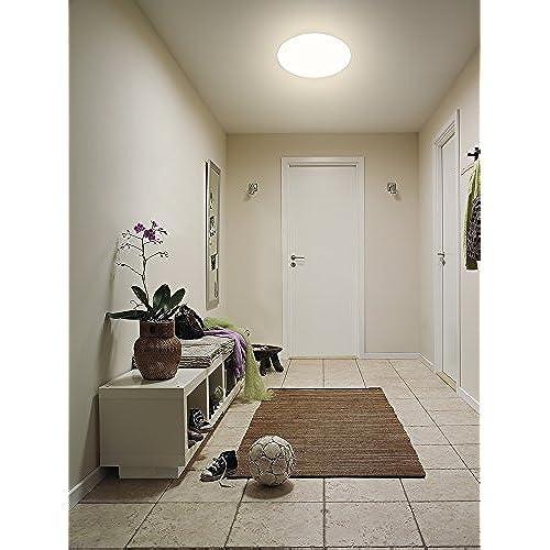 Ouesen Plafonnier Led 18w Moderne Lampe De Plafond Impermeable Ip44