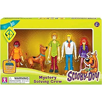 Scooby Doo ScoobyDoo Mystery Mates Figure 5Pack Mystery Solving Crew, Multicolor Charter Limited SCD60397