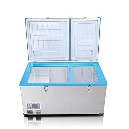 Amazon.es: Refrigerador del coche 80L, congelador cero congelado ...
