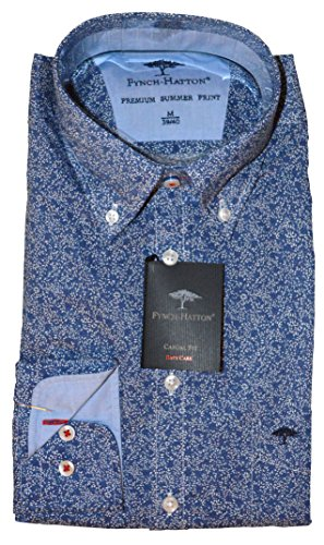 Fynch Hatton - Chemise casual - Col Boutonné - Homme