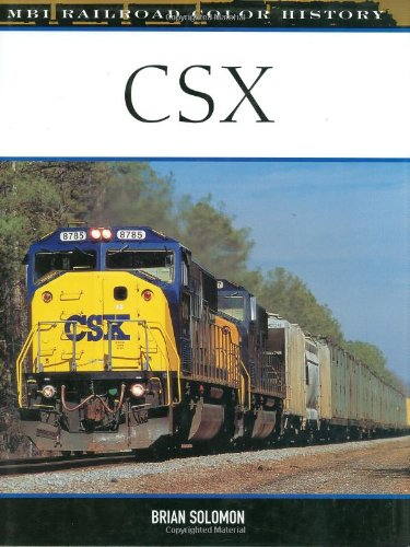 CSX MBI Railroad Color History product image