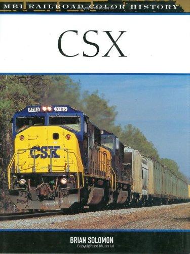 CSX MBI Railroad Color History product image