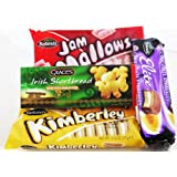 Irish Biscuit Pack - Orignal Kimberley Biscuits, Chocolate Kimberleys, Jam Mallows, Irish Shortbread Biscuits