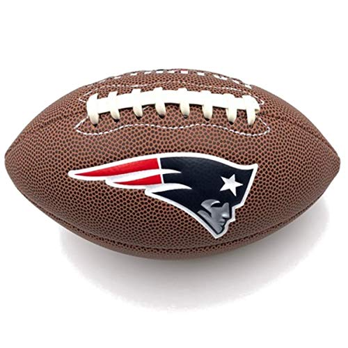 Jarden Sports Licensing Official National Football League Fan Shop Authentic NFL AIR IT Out Youth Football. Great for Pick up Game with The Kids. (New England Patriots) ()