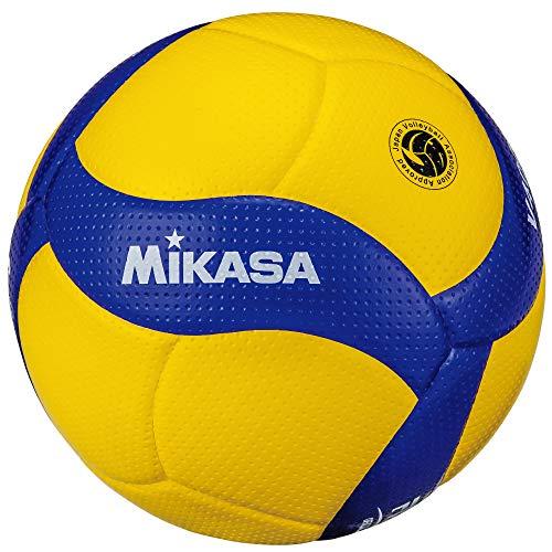 (미카사) MIKASA 배구공 4 호 검정 공 노랑 / 파랑