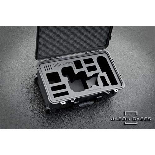 ジェイソンケースケース。Canon C200カメラ用レーザーカットフォーム。コンパクト。   B07GFRL1MD