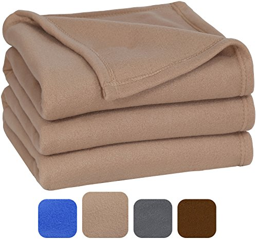 Polar Fleece Blanket  - Extra Soft Brush Fabric, Super Warm